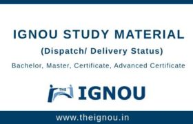 IGNOU Study Material Status