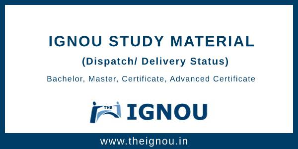 IGNOU Study Material Online Portal