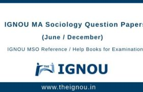 IGNOU MSO Question Papers
