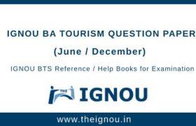 IGNOU BTS Question Papers