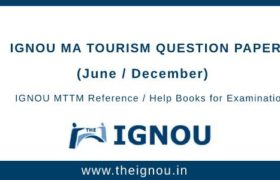IGNOU MTTM Question Papers